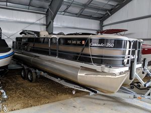 Used Palm Beach 260 Cascade Pontoon Boat For Sale