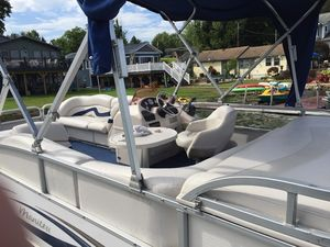 Used Manitou Oasis Pontoon Boat For Sale