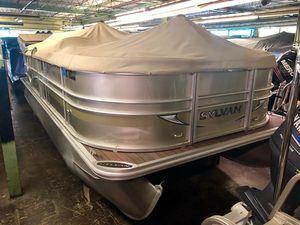 Used Sylvan 8520 Pontoon Boat For Sale