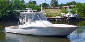 Used Predator 35 Custom Express Walk Around Sports Fishing Boat For Sale