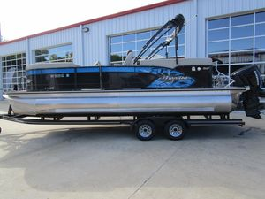 Used Manitou 23 X-plode Pontoon Boat For Sale