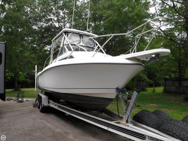 Used Wellcraft Coastal 236 Walkaround Fishing Boat For Sale