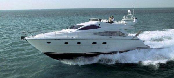 Used Aicon 56'S Flybridge Cruiser Flybridge Boat For Sale