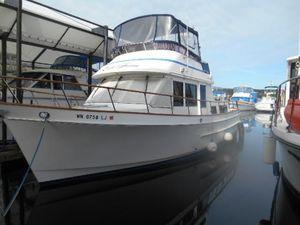 Used Ocean Alexander Double Cabin Trawler Boat For Sale