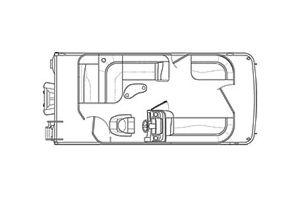 New Bennington 20 SLV - Value Series Pontoon Boat For Sale