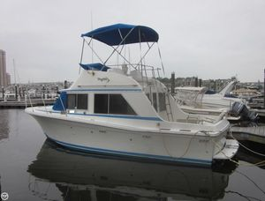 Used Uniflite 28 Mega Sports Fishing Boat For Sale