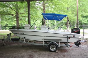 Used Renken 1880 Seamaster Center Console Fishing Boat For Sale