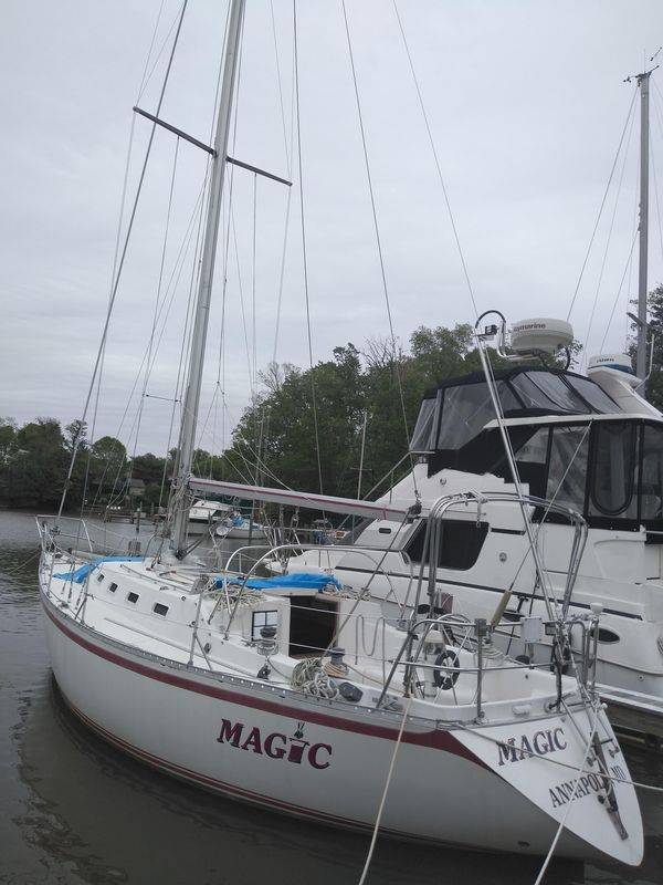 Used Canadian Sailcraft 36 Sloop Sailboat For Sale