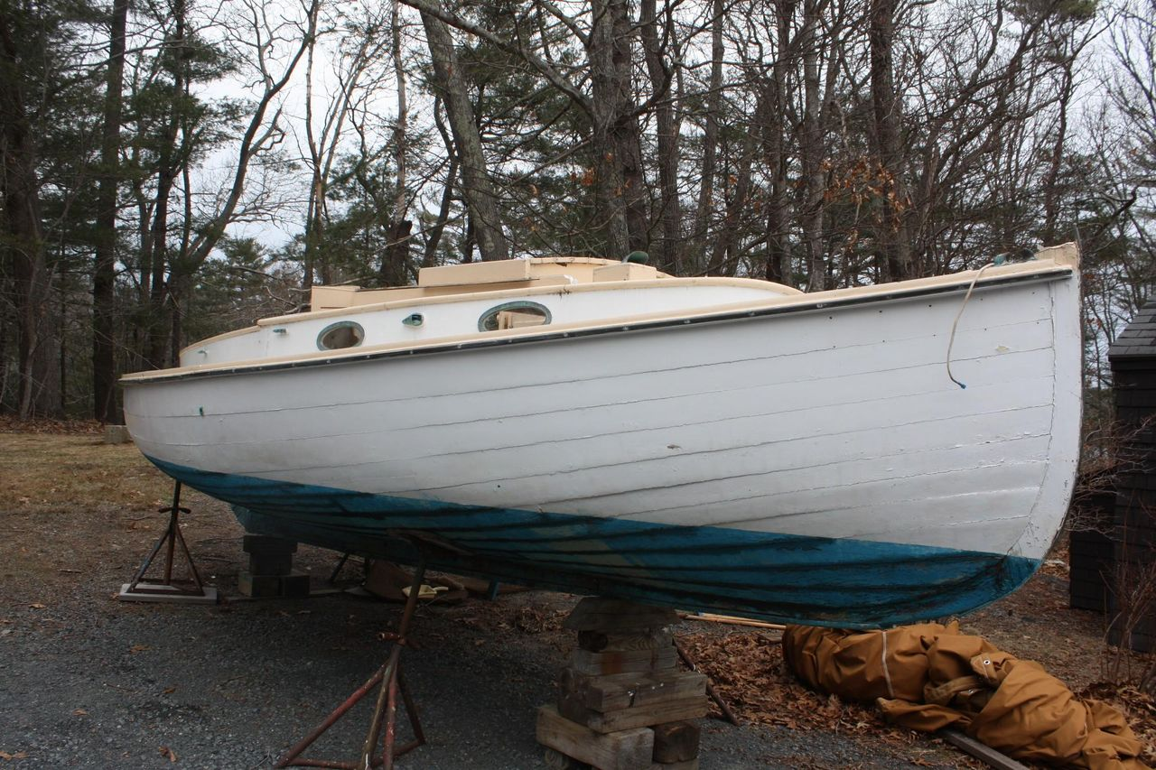 1960 Used Crosby (modified) Catboat Other Sailboat For Sale