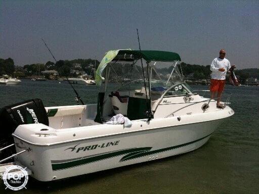 Used Pro-Line Walkaround 22 Walkaround Fishing Boat For Sale