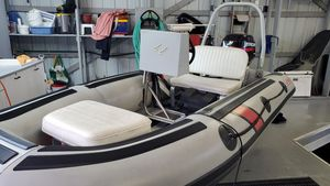 Used Polaris Center Console Infllatable Tender Boat For Sale