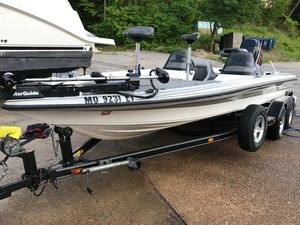 Used Hawk Boats 21 Bass Boat Freshwater Fishing Boat For Sale