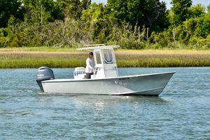 Used Custom Carolina 23 Harrison Boatworks Center Console Fishing Boat For Sale