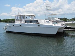 Used Endeavour Catamaran 440 Express Power Catamaran Boat For Sale