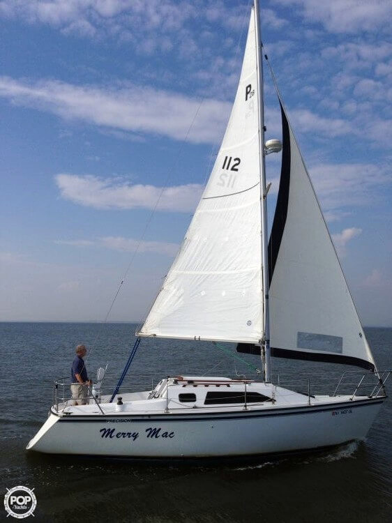 Used Precision 28 Sloop Sailboat For Sale