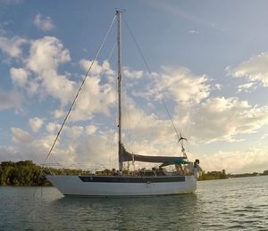 Used Cartwright Steel Hybrid Cutter Cruiser Sailboat For Sale