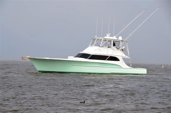 Used Davis Carolina Custom Sportfisherman Convertible Fishing Boat For Sale