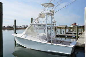 Used Tides Express Custom Carolina Express Cruiser Boat For Sale