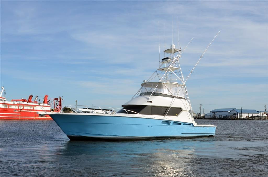 1998 used hatteras 54 convertible fishing boat for sale for Hatteras fishing boat