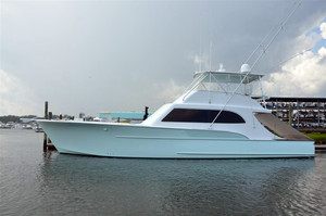 Used Davis Yachts Custom Carolina Sportfish Convertible Fishing Boat For Sale