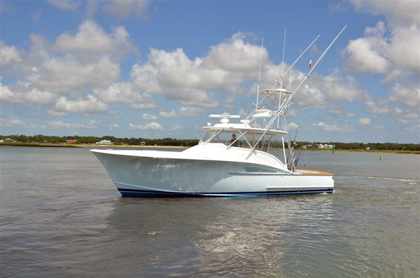 Used Caison Custom Carolina Express Cruiser Boat For Sale