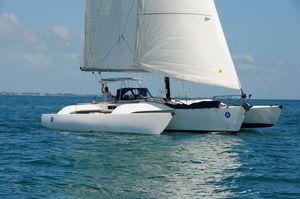 Used Crowther 40 Trimaran Catamaran Sailboat For Sale
