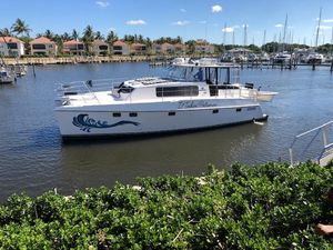 Used Endeavour Trawler Cat Power Catamaran Boat For Sale