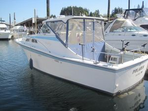 Used Uniflite Salty Dog Saltwater Fishing Boat For Sale