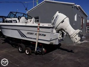 Used Sportcraft Fishmaster 222 Walkaround Fishing Boat For Sale