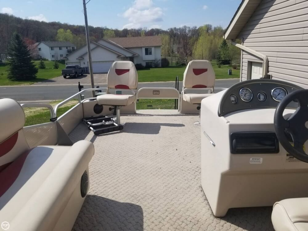 2008 Used Weeres Sport Fish 180 Pontoon Boat For Sale