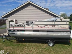 Used Weeres Sport Fish 180 Pontoon Boat For Sale