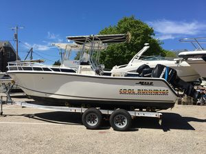 Used Mako 212 Center Console Freshwater Fishing Boat For Sale