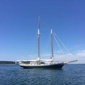Used Classic Murray Peterson Schooner Sailboat For Sale