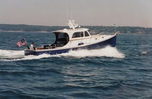 Used Jarvis Newman Farrins Hardtop Lobster Cruiser Commercial Boat For Sale