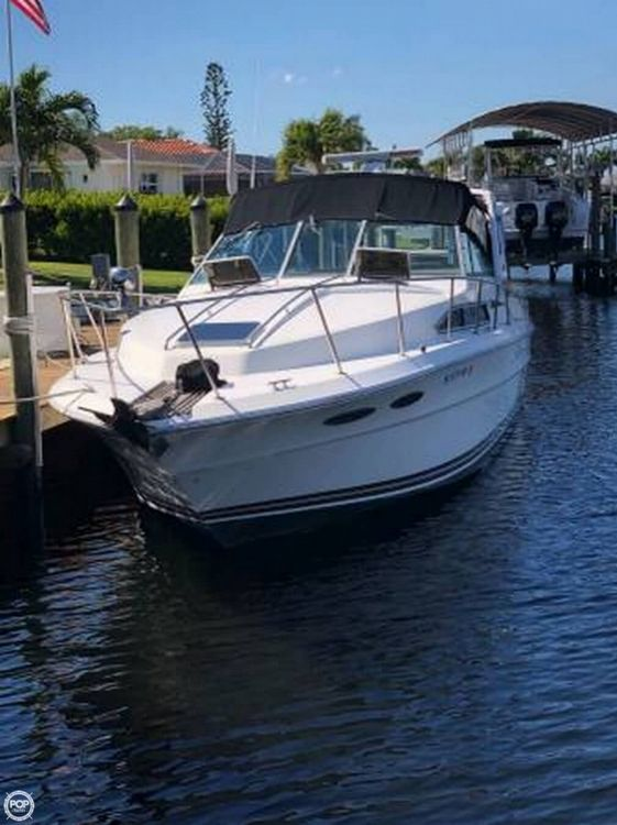 1987 Used Sea Ray 340 Express Cruiser Boat For Sale - $13,759 - Cape