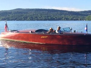 Used Hacker-Craft 26 Triple Cockpit Runabout Antique and Classic Boat For Sale