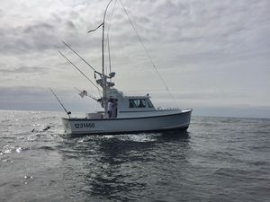 Used Duffy 38 Downeast Tuna Rigged Downeast Fishing Boat For Sale