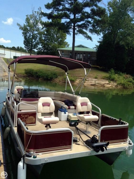 2012 used g3 suncatcher lv 208 fish pontoon boat for sale for Used fishing pontoon boats for sale