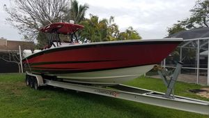 Used Avanti Cuddy Center Console Fishing Boat For Sale
