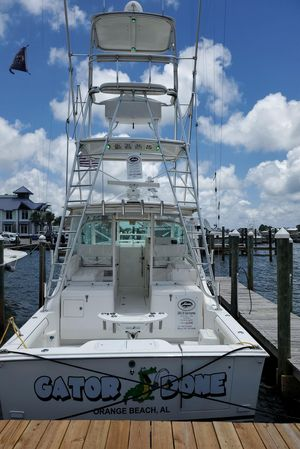 Used Cabo 35 Express Flybridge Boat For Sale