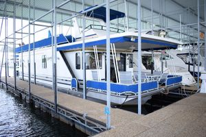 Used Lakeview 16 X 55 Widebody Houseboat House Boat For Sale