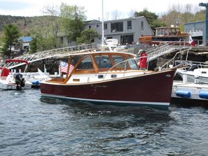 Used Downeast Pemaquid Beach 26 Motor Yacht For Sale
