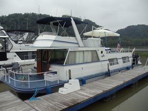 Used King's Craft 50 House Boat House Boat For Sale