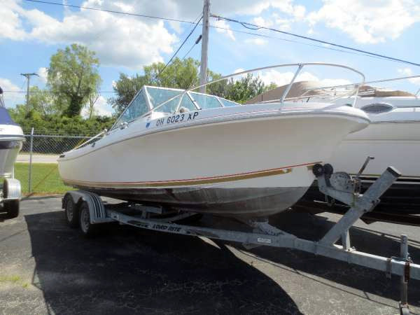 1981 used wellcraft v20 freshwater fishing boat for sale for Fishing boats for sale in ohio