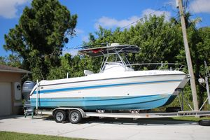 Used Glacier Bay Canyon Runner 260 Power Catamaran Boat For Sale