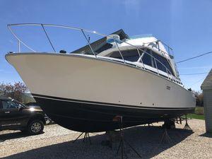 Used Bertram Flybridge Cruiser Sports Fishing Boat For Sale