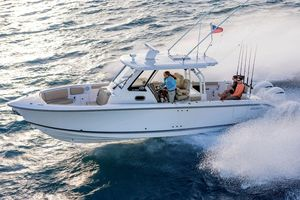 Used Pursuit S 328 Sport Center Console Fishing Boat For Sale