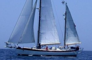 Used Hans Christian 43 Traditional Cruiser Sailboat For Sale