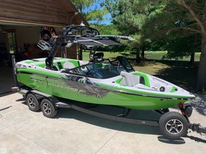 Used Nautique Super Air 210 Team Edition Ski and Wakeboard Boat For Sale