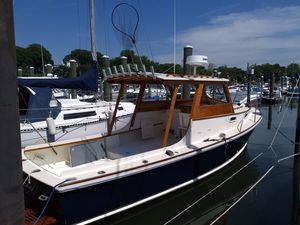 Used Dyer 29 Flush Deck EXT Hard Top Downeast Fishing Boat For Sale